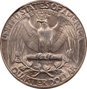 1934 Quarter Reverse