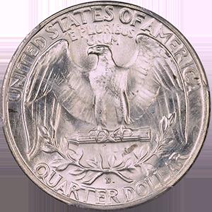 1936 Quarter Reverse