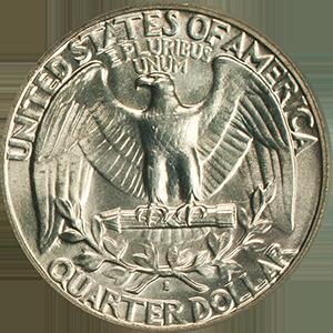 1939 Quarter Reverse