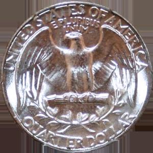 1941 Quarter Reverse