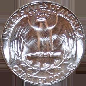 1942 Quarter Reverse