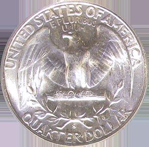 1946 Quarter Reverse