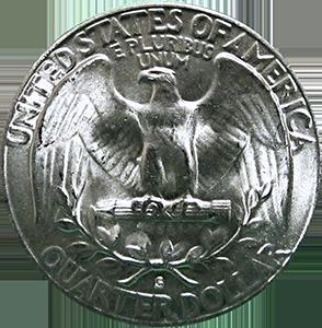 1954 Quarter Reverse