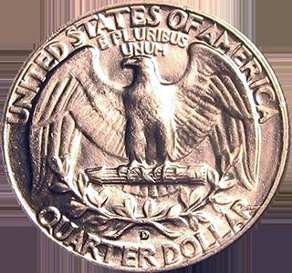 1957 Quarter Reverse