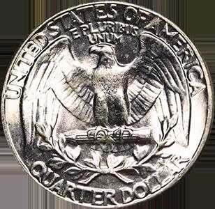 1958 Quarter Reverse