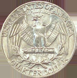 1959 Quarter Reverse