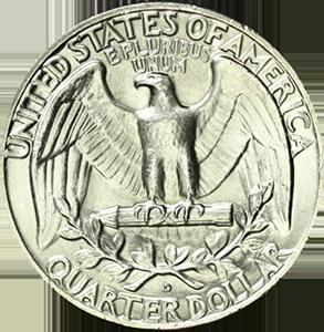 1960 Quarter Reverse