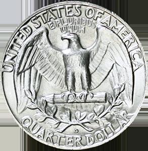 1961 Quarter Reverse