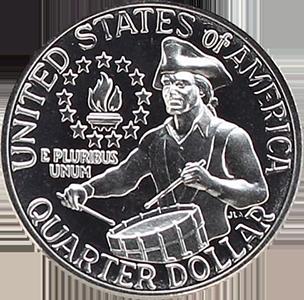 1976 Quarter Reverse