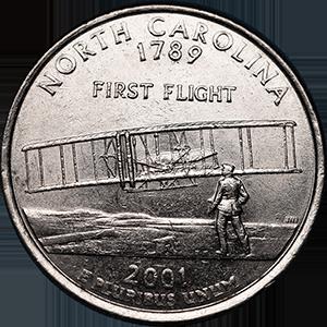 2001 Quarter Reverse